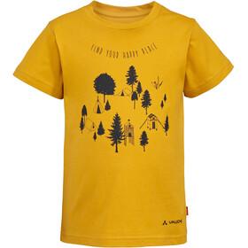 VAUDE Lezza Camiseta Niños, amarillo
